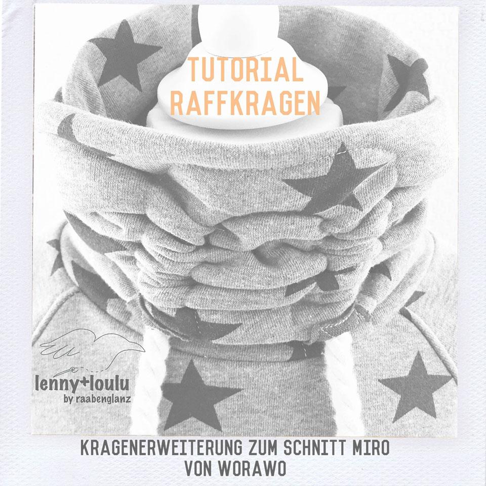 Tutorial Raffkragen - lenny+loulu by raabenglanz